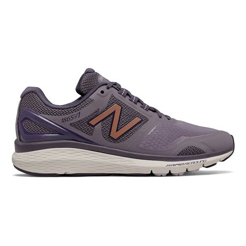 Womens New Balance 1865v1 Walking Shoe - Berry/Rose Gold 11