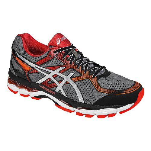 Mens ASICS GEL-Surveyor 5 Running Shoe - Black/Silver 9