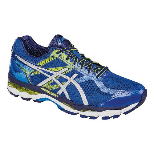 Mens ASICS GEL-Surveyor 5 Running Shoe - Blue/Silver 12.5