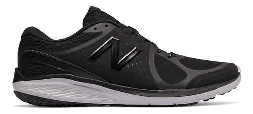 Mens New Balance 85v1 Walking Shoe - Black/Grey 10.5