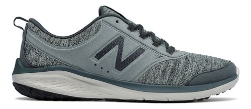 Womens New Balance 85v1 Walking Shoe - Grey/Green 10.5