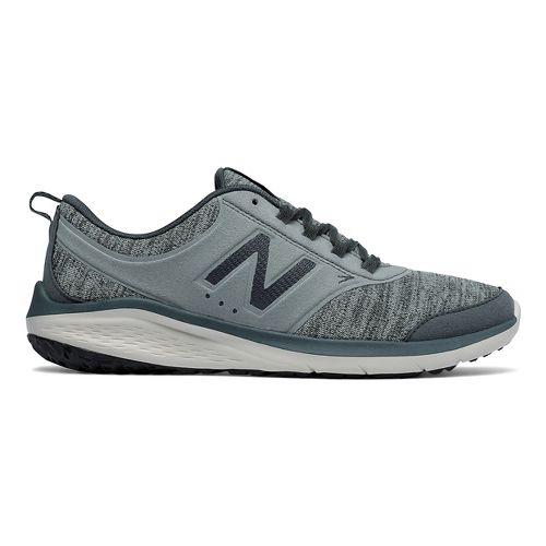 Womens New Balance 85v1 Walking Shoe - Grey/Green 9