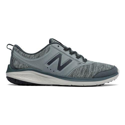 Womens New Balance 85v1 Walking Shoe - Grey/Green 9.5