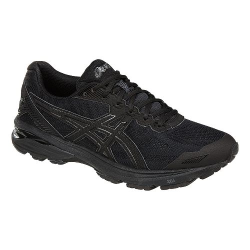 Mens ASICS GT-1000 5 Running Shoe - Black 6.5