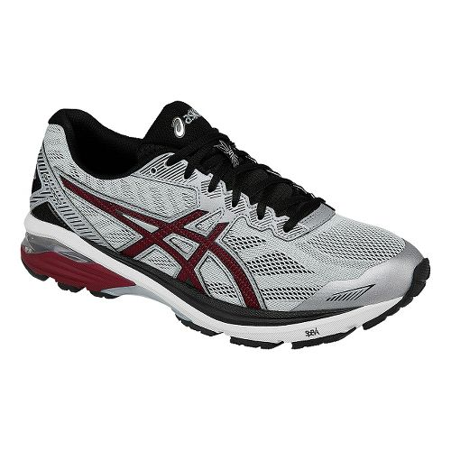 Mens ASICS GT-1000 5 Running Shoe - Grey/Black 9.5