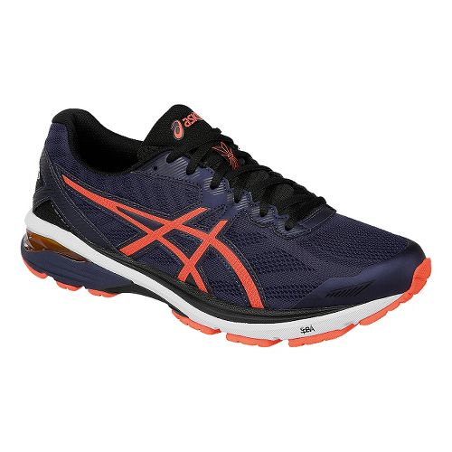 Mens ASICS GT-1000 5 Running Shoe - Blue/Orange 10.5