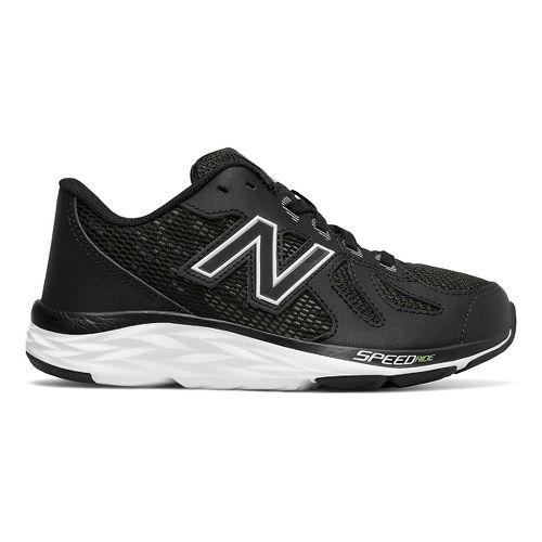 Kids New Balance 790v6 Running Shoe - Black/White 6.5Y