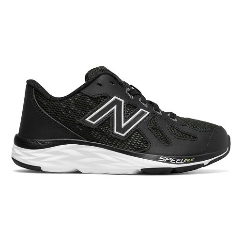 Kids New Balance 790v6 Running Shoe - Black/White 7Y