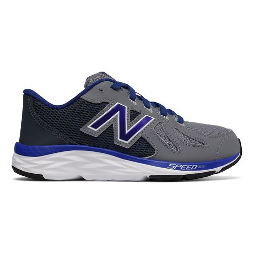Kids New Balance 790v6 Running Shoe - Grey/Blue 3Y
