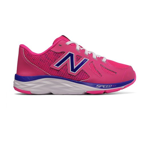 Kids New Balance 790v6 Running Shoe - Pink/Purple 7Y