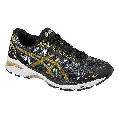 Mens ASICS GT-1000 5 GR Running Shoe - Black/Gold 15