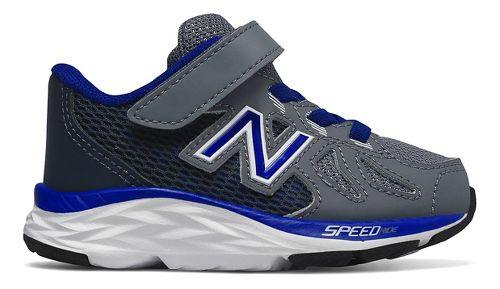 Kids New Balance 790v6 Running Shoe - Grey/Blue 3C