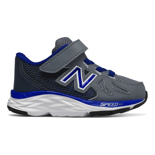 Kids New Balance 790v6 Running Shoe - Grey/Blue 5C