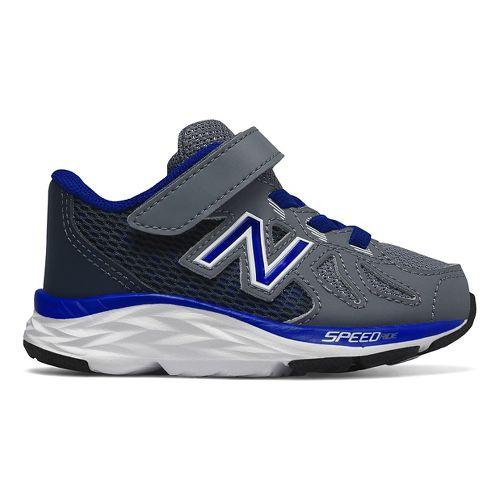 Kids New Balance 790v6 Running Shoe - Grey/Blue 6C
