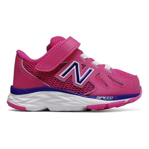 Kids New Balance 790v6 Running Shoe - Pink/Purple 9C