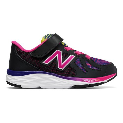 Kids New Balance 790v6 Running Shoe - Black/Rainbow 1Y