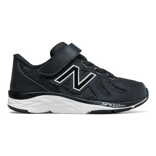 Kids New Balance 790v6 Running Shoe - Black/White 12.5C