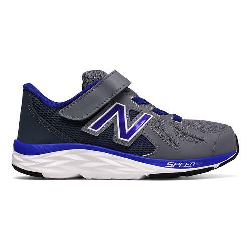Kids New Balance 790v6 Running Shoe - Grey/Blue 2Y
