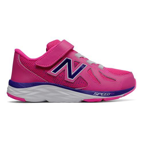 Kids New Balance 790v6 Running Shoe - Pink/Purple 12C