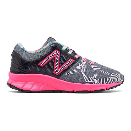 New Balance 200v1 Running Shoe - Black/Multi 3.5Y