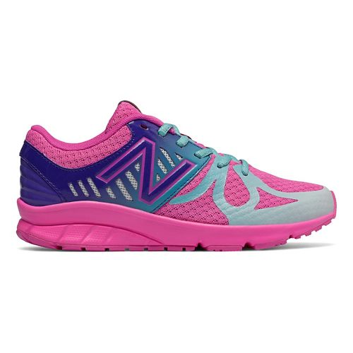 Kids New Balance 200v1 Running Shoe - Pink/Green 7Y