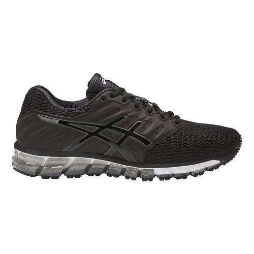Mens ASICS GEL-Quantum 180 2 Running Shoe - Navy/Black 9