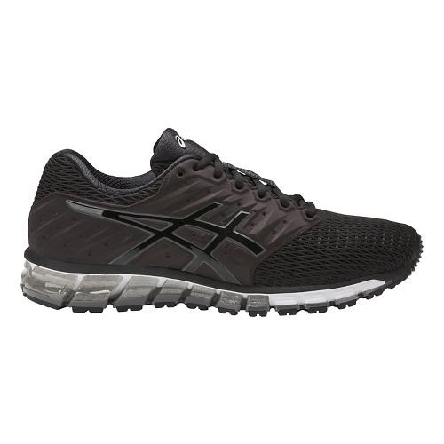 Mens ASICS GEL-Quantum 180 2 Running Shoe - Black/Carbon 9