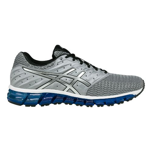 Mens ASICS GEL-Quantum 180 2 Running Shoe - Aluminum/Silver 9.5