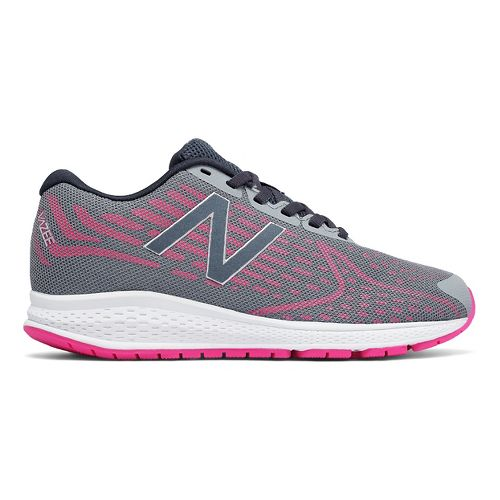 New Balance Rush v2 Running Shoe - Grey/Pink 7Y