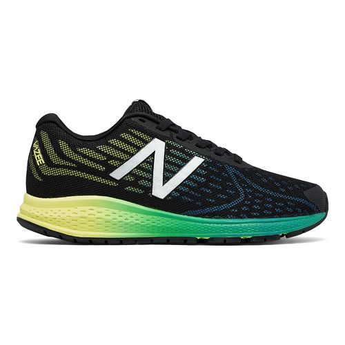 New Balance Rush v2 Running Shoe - Black/Yellow 6Y