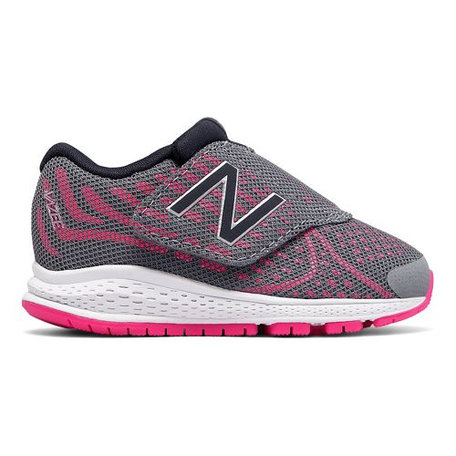 New Balance Rush v2 Running Shoe - Grey/Pink 9.5C