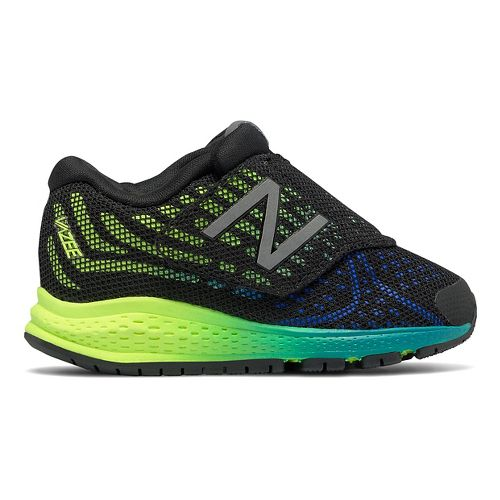 New Balance Rush v2 Running Shoe - Black/Yellow 4C