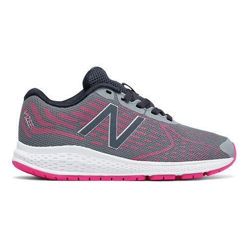 New Balance RushV2 Running Shoe - Grey/Pink 3Y