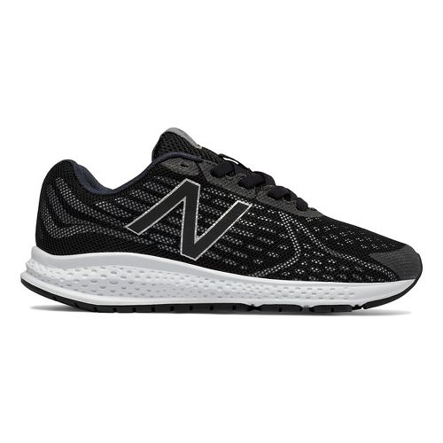 Kids New Balance Rush v2 Running Shoe - Black/Silver 3Y