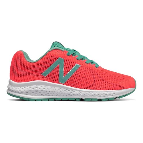 Kids New Balance Rush v2 Running Shoe - Pink/Teal 2.5Y