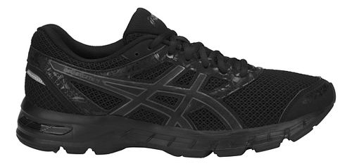Mens ASICS GEL-Excite 4 Running Shoe - Black/Carbon 12.5