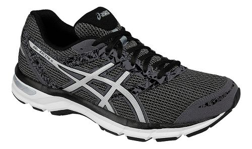 Mens ASICS GEL-Excite 4 Running Shoe - Grey/Silver 15