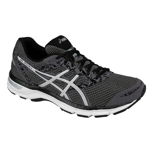Mens ASICS GEL-Excite 4 Running Shoe - Grey/Silver 7.5