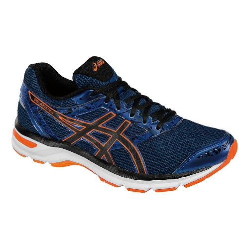 Mens ASICS GEL-Excite 4 Running Shoe - Blue/Orange 9