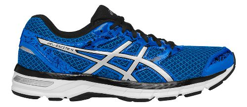 Mens ASICS GEL-Excite 4 Running Shoe - Blue/Silver 12