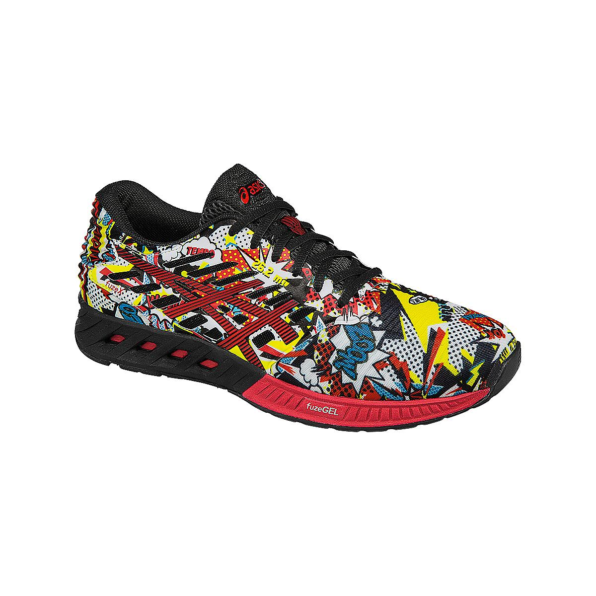 Mens ASICS fuzeX Comic Running Shoe at Road Runner Sports
