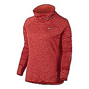 Womens Nike Therma Sphere Element Running Long Sleeve Technical Tops