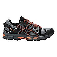 Mens ASICS GEL-Kahana 8 Trail Running Shoe - Grey/Orange 7
