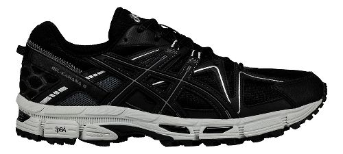 Mens ASICS GEL-Kahana 8 Trail Running Shoe - Black/Silver 12