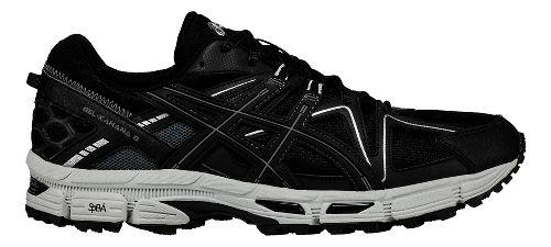 Mens ASICS GEL-Kahana 8 Trail Running Shoe - Black/Silver 12.5