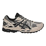 Mens ASICS GEL-Kahana 8 Trail Running Shoe - Grey/Black/Carbon 15