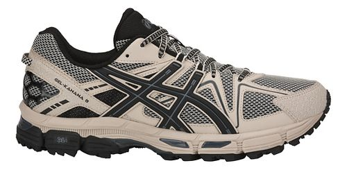 Mens ASICS GEL-Kahana 8 Trail Running Shoe - Grey/Black/Carbon 8