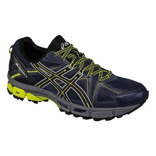 Mens ASICS GEL-Kahana 8 Trail Running Shoe - Navy/Black 7.5