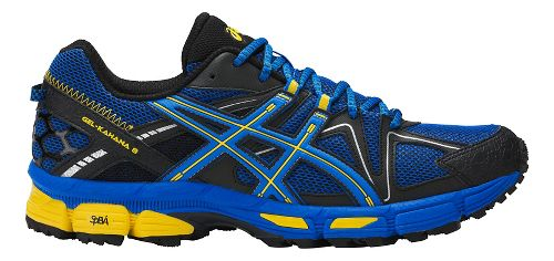 Mens ASICS GEL-Kahana 8 Trail Running Shoe - Blue/Yellow 11