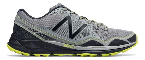 Mens New Balance 910v3 Trail Running Shoe - Grey/Yellow 7.5
